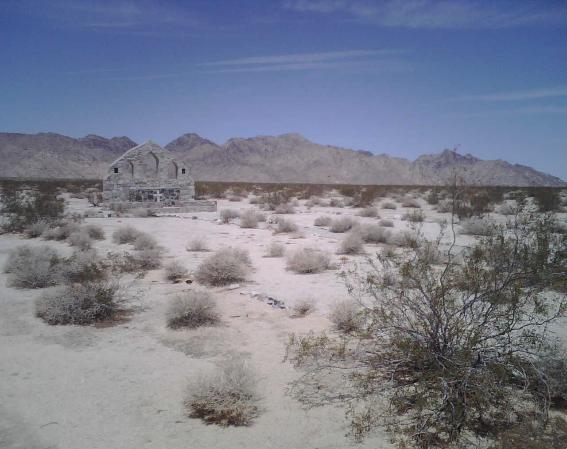 Camp Iron Mountain Desert Training Center